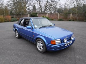 **MARCH AUCTION**1989 Ford XR3i For Sale by Auction