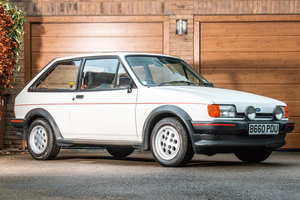 1984 Ford Fiesta XR2 with one owner & incredible low mileage For Sale by Auction
