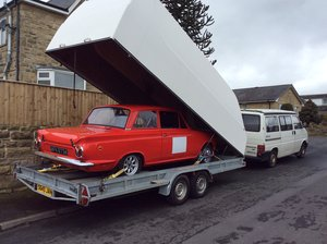 1963 Mk 1 Lotus Cortina. For Sale