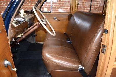 1941 Ford DeLuxe Woodie Wagon = Blue(~)Brown $79.5k For Sale (picture 2 of 6)