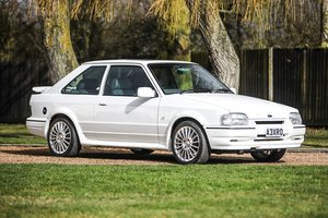 1989 Ford Escort XR3i 'Concours' winner For Sale by Auction