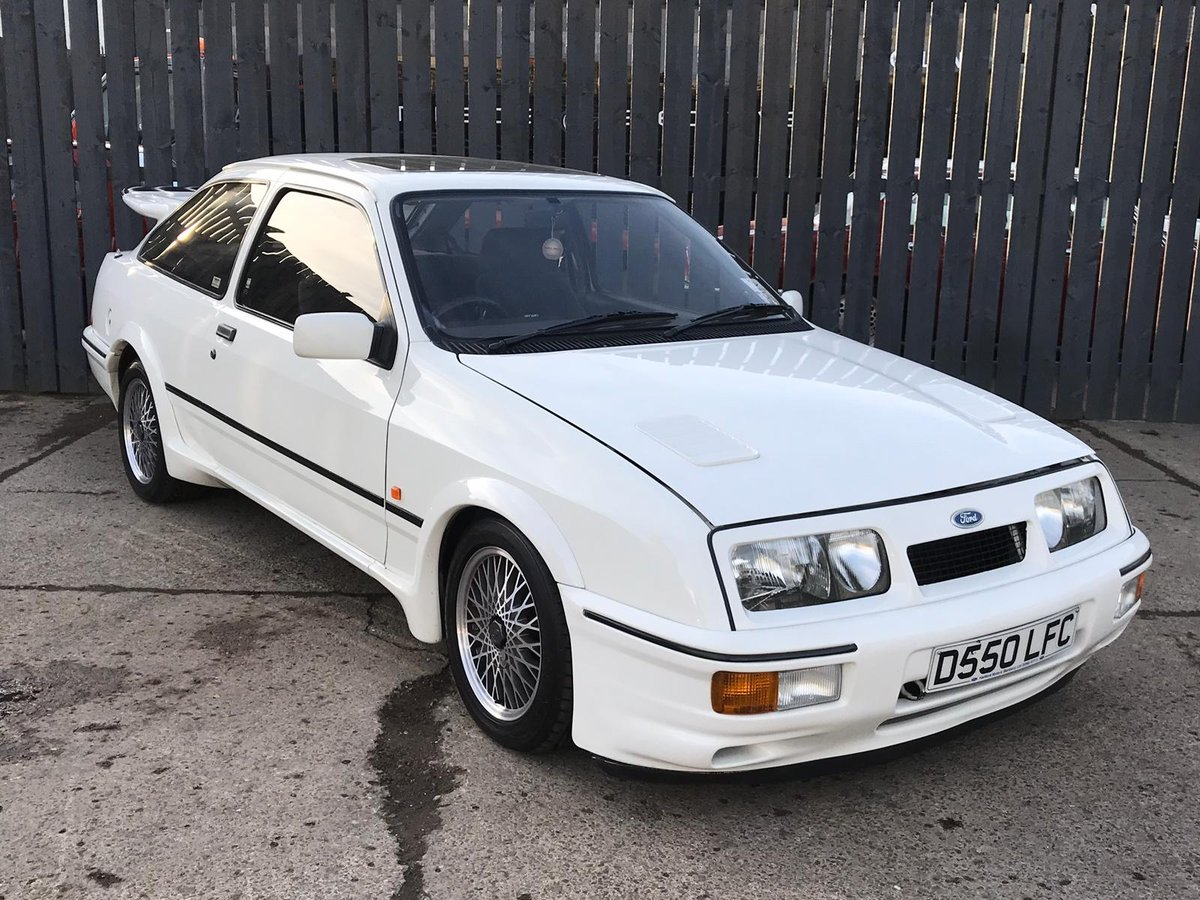 1986 FORD SIERRA RS COS-WORTH HIGHLY DESIRABLE SPORTING FORD For Sale (picture 1 of 6)