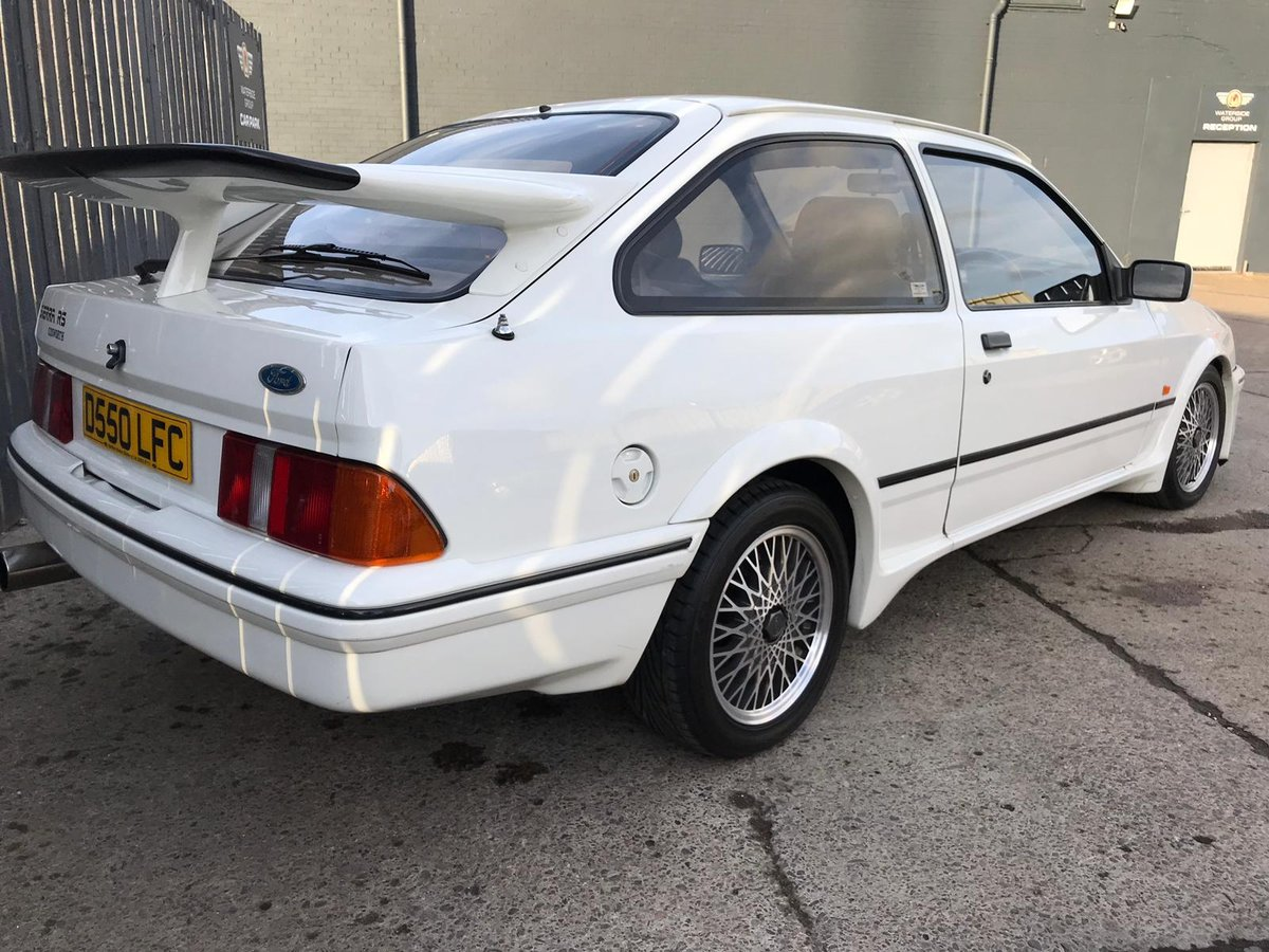 1986 FORD SIERRA RS COS-WORTH HIGHLY DESIRABLE SPORTING FORD For Sale (picture 2 of 6)