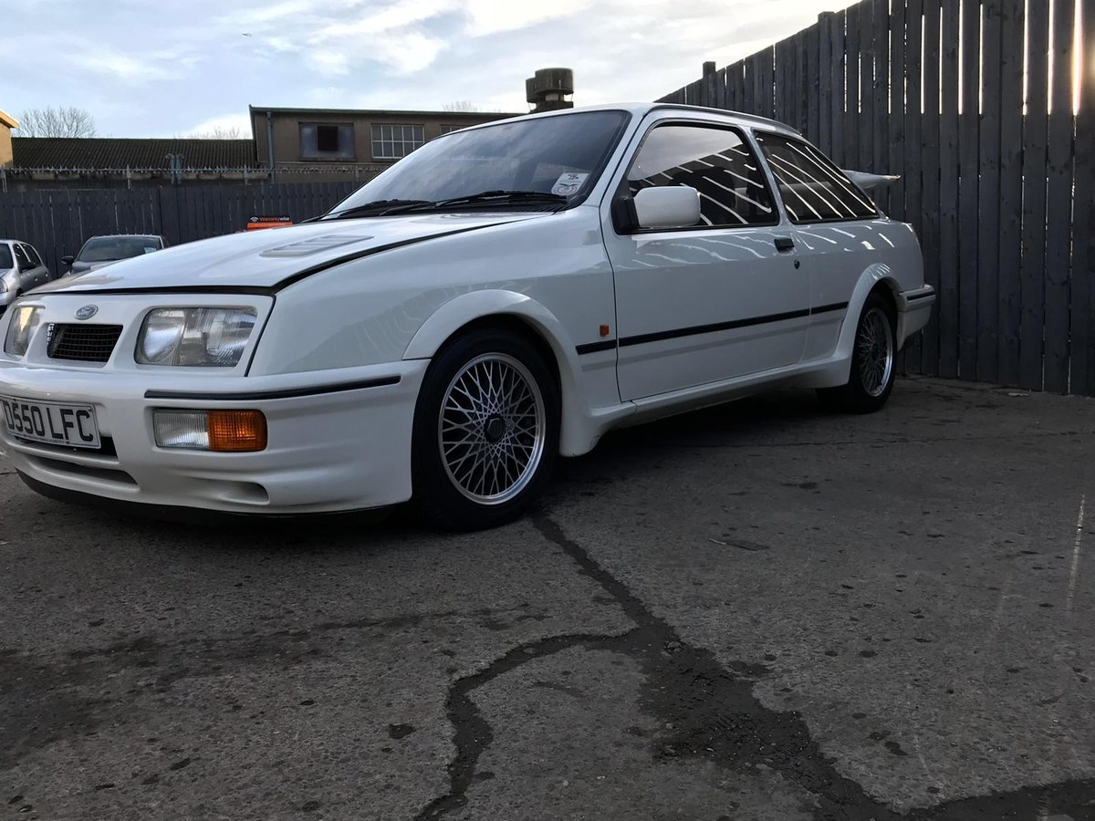 1986 FORD SIERRA RS COS-WORTH HIGHLY DESIRABLE SPORTING FORD For Sale (picture 3 of 6)