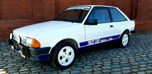 1984 Ford Escort XR3 - Ex Brazilian F1 Pace Car For Sale by Auction