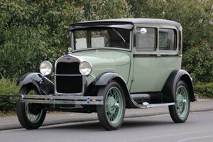 Ford Model A Tudor, 1928 SOLD