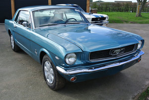 1966 Ford Mustang V8 Auto Turquoise PROJECT SOLD