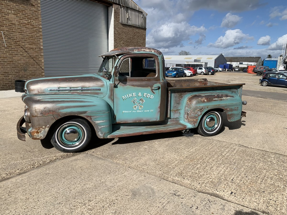 ffa70cbc15 ... 1951 Ford F100 ex wheeler dealer truck For Sale (picture 1 of 6) ...