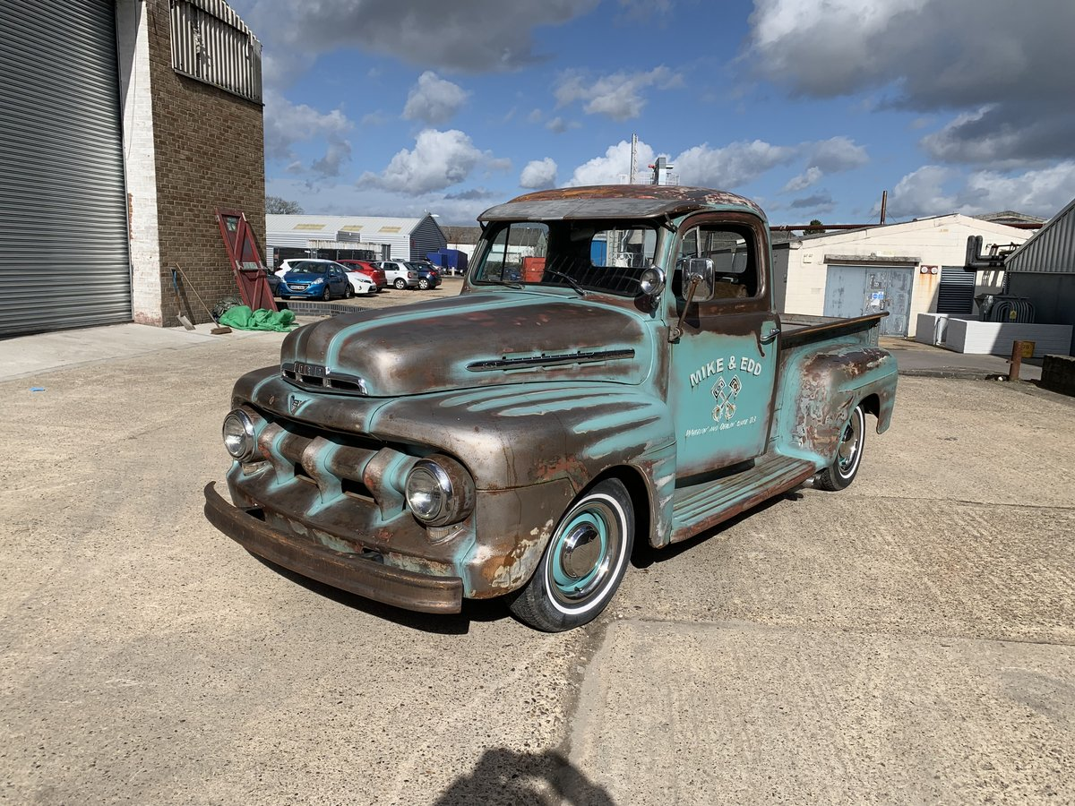 1951 Ford F100 ex wheeler dealer truck For Sale (picture 2 of 6)