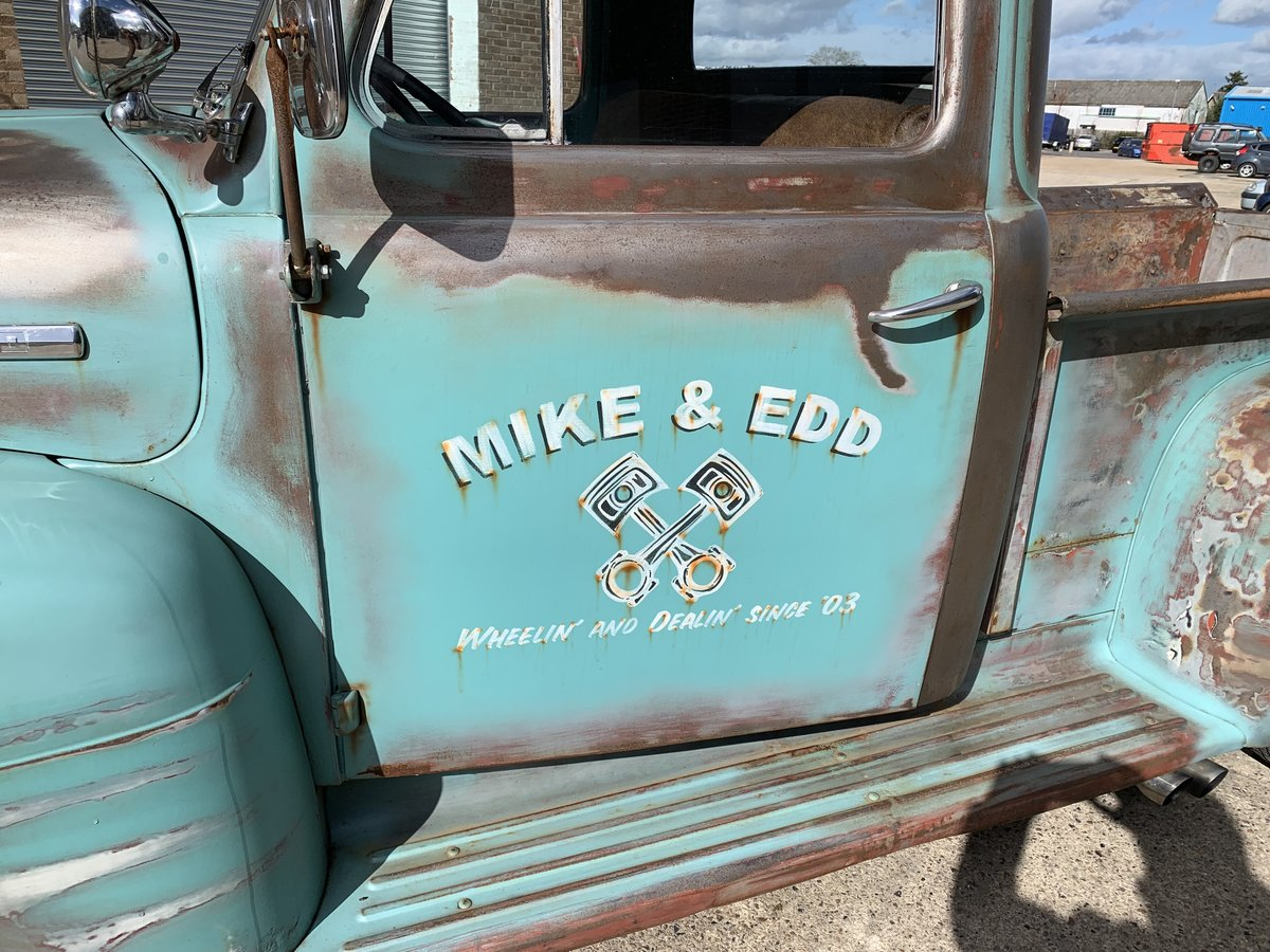 1951 Ford F100 ex wheeler dealer truck For Sale (picture 3 of 6)