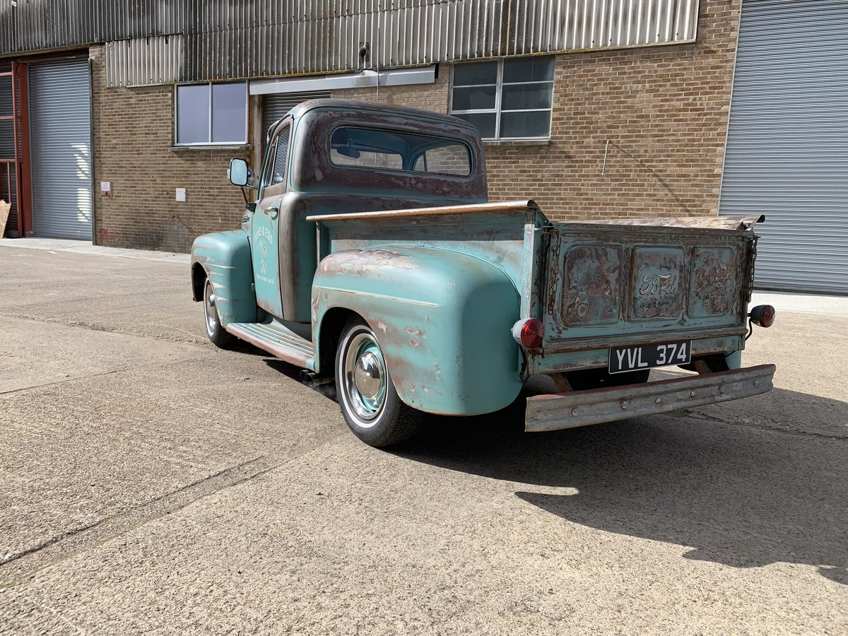 1951 Ford F100 ex wheeler dealer truck For Sale (picture 4 of 6)