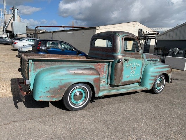 1951 Ford F100 ex wheeler dealer truck For Sale (picture 6 of 6)