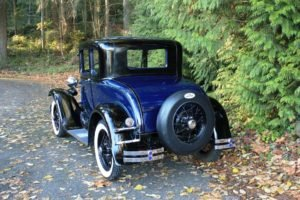 1930 Ford Model A Coupe = clean Blue(~)Grey driver $22k For Sale (picture 3 of 6)