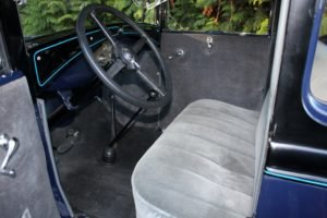 1930 Ford Model A Coupe = clean Blue(~)Grey driver $22k For Sale (picture 4 of 6)