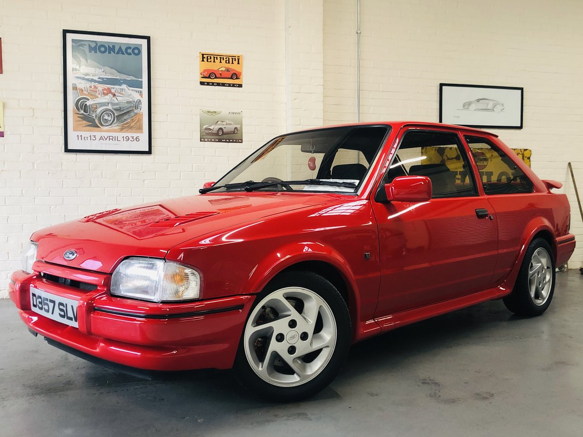 1d7b0bd3a5 ... 1987 FORD ESCORT RS TURBO - STUNNING CONDITION THROUGHOUT SOLD (picture  1 of 6) ...