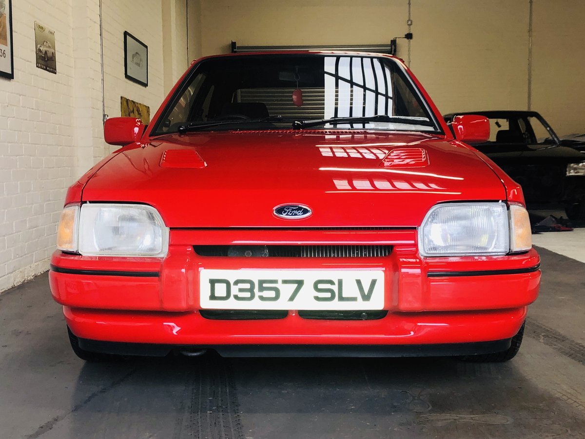 1987 FORD ESCORT RS TURBO - STUNNING CONDITION THROUGHOUT SOLD (picture 3 of 6)