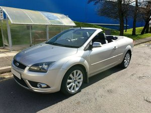 2007 FORD FOCUS CC CONVERTIBLE 2.0 TDCI WITH ONLY 81700 FULL MOT SOLD