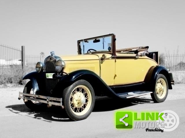 Ford Model A Roadster (1931) TARGA ORO For Sale (picture 1 of 6)