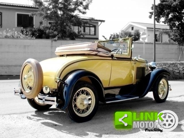 Ford Model A Roadster (1931) TARGA ORO For Sale (picture 2 of 6)