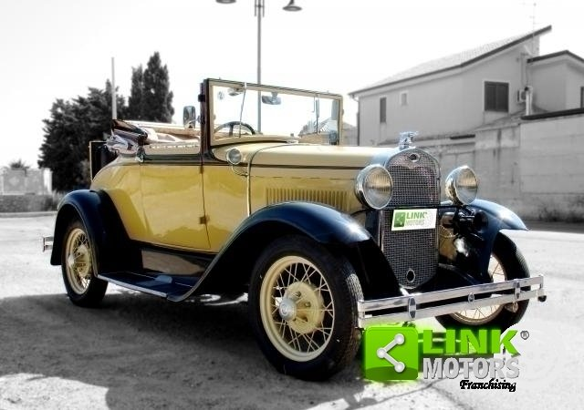 Ford Model A Roadster (1931) TARGA ORO For Sale (picture 3 of 6)