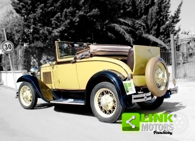 Ford Model A Roadster (1931) TARGA ORO For Sale (picture 4 of 6)