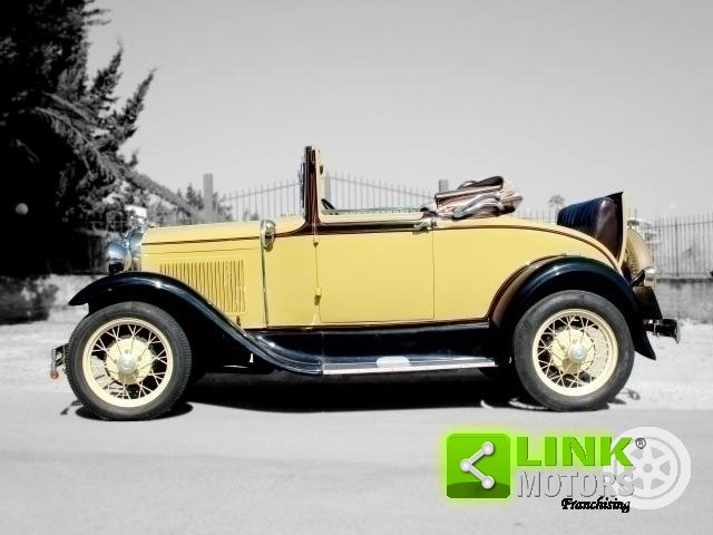 Ford Model A Roadster (1931) TARGA ORO For Sale (picture 5 of 6)