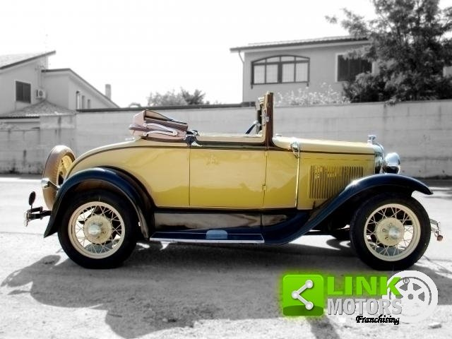 Ford Model A Roadster (1931) TARGA ORO For Sale (picture 6 of 6)