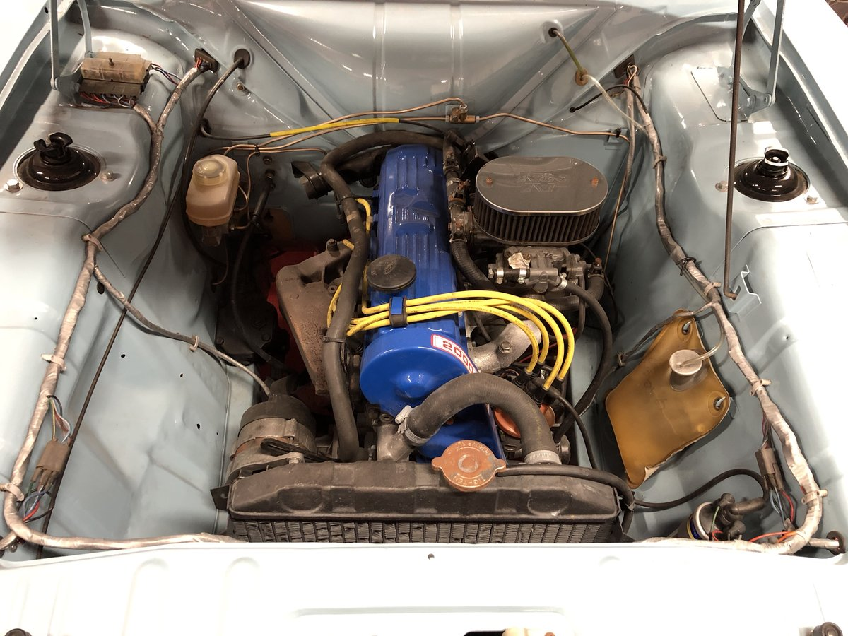 1969 FORD CORTINA MK2 REGD AS 2.0 GT PINTO SA CAR NEVER WELDED! For Sale (picture 5 of 6)