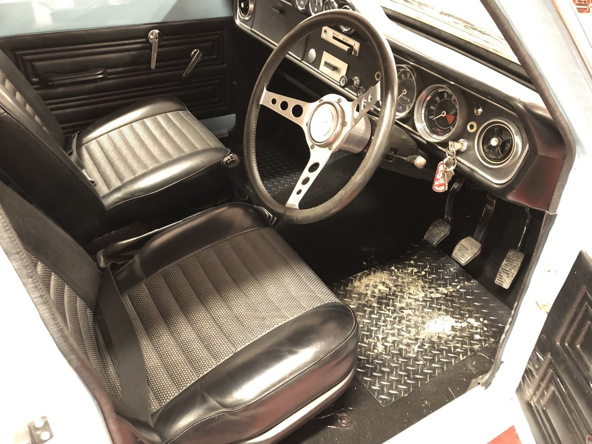 1969 FORD CORTINA MK2 REGD AS 2.0 GT PINTO SA CAR NEVER WELDED! For Sale (picture 6 of 6)