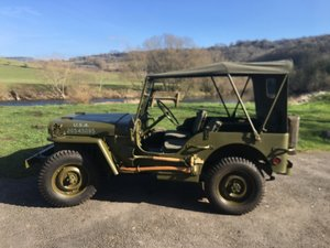 Ford GPW 1944 restored For Sale
