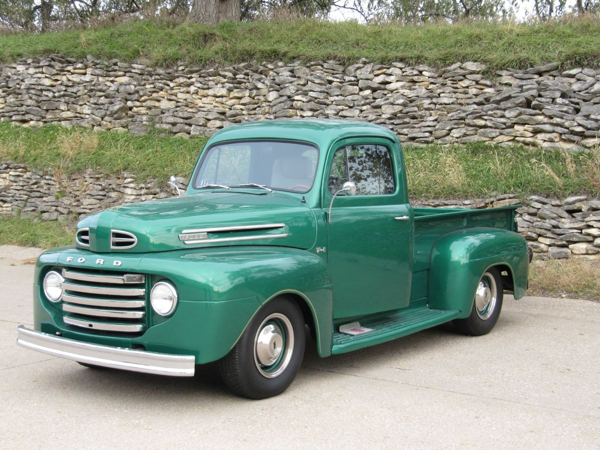 1950 Ford F1 Pickup For Sale (picture 1 of 6)