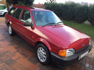 1989 Ford Escort 1.6 GL Estate (Mark 4) For Sale