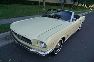 Orig Calif 1965 Ford Mustang 289/225HP V8 Convertible For Sale