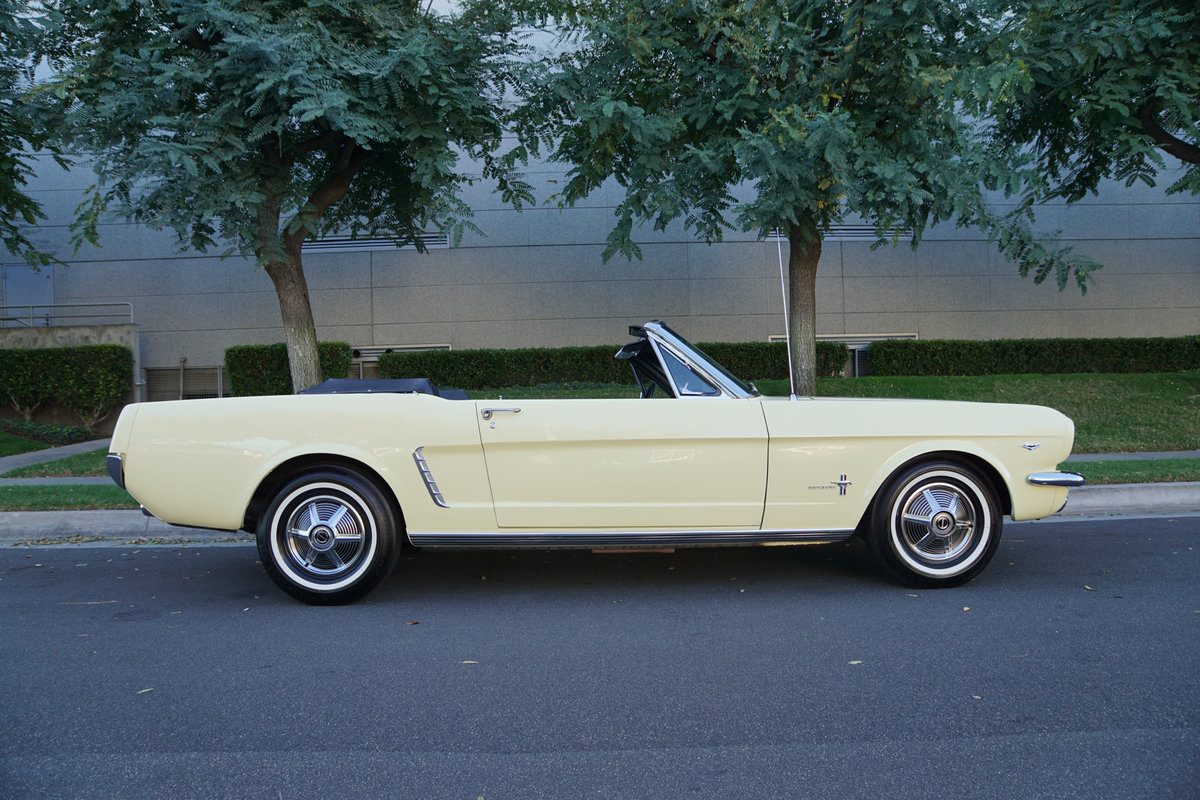 Orig Calif 1965 Ford Mustang 289/225HP V8 Convertible For Sale (picture 2 of 6)