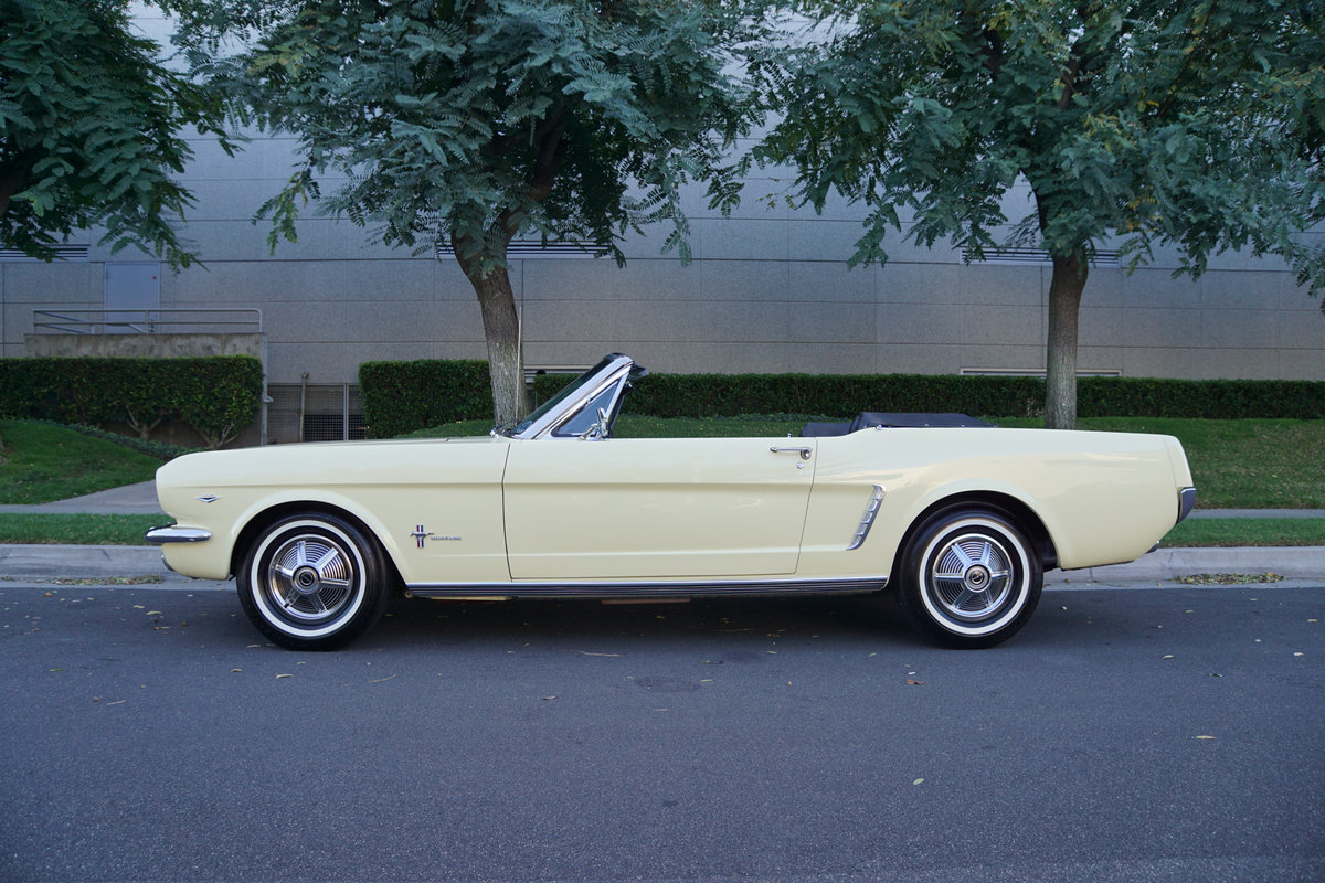 Orig Calif 1965 Ford Mustang 289/225HP V8 Convertible For Sale (picture 3 of 6)