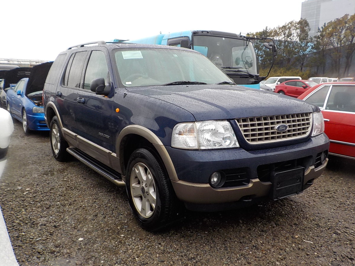 2004 FORD EXPLORER 4.6 EDDIE BAUER AUTOMATIC * 7 SEATER 4X4  SOLD (picture 2 of 6)