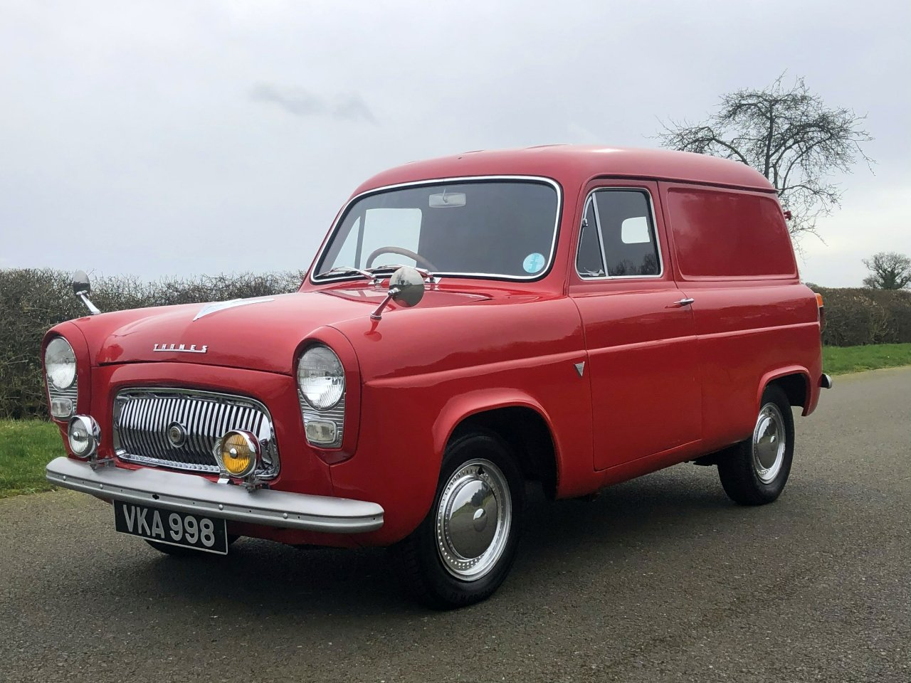 1956 Ford Thames 300E Van SOLD (picture 1 of 6)