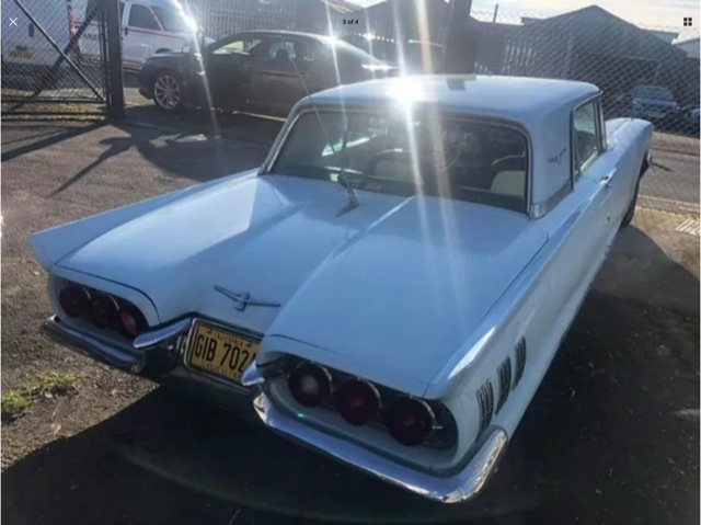 1960 Ford Thunderbird, 352 V8, auto, ps, pb, great driver For Sale (picture 5 of 6)