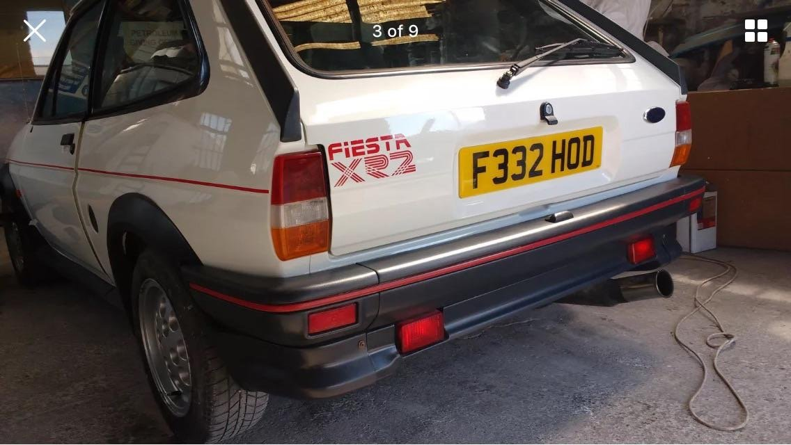 1988 FORD FIESTA XR2 MK2  For Sale (picture 4 of 6)