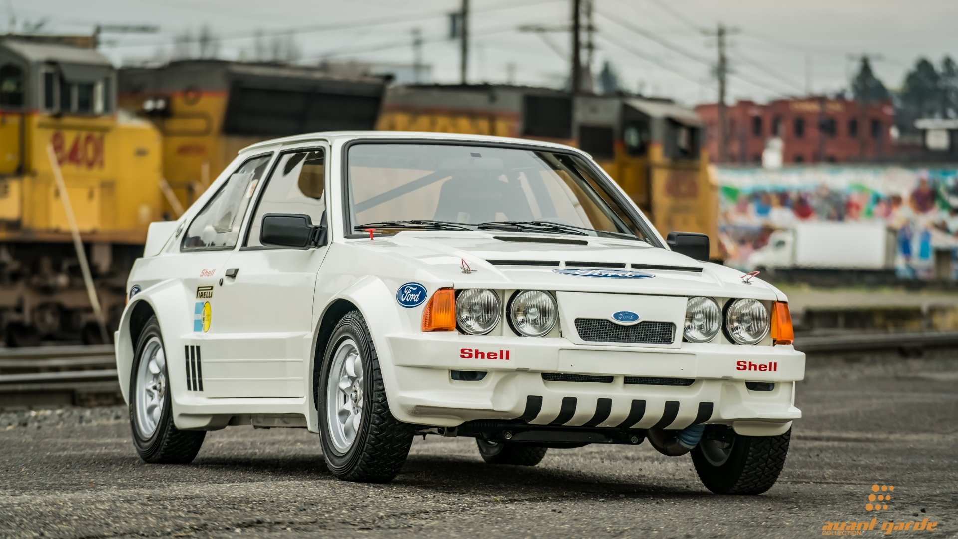1984 Ford RS1700T Rally = very Rare 1 of 18 made  $470k For Sale (picture 2 of 6)