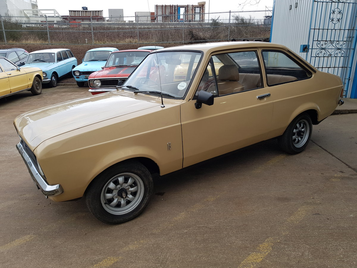 1976 Ford Escort MK2 1.3 For Sale (picture 1 of 6)