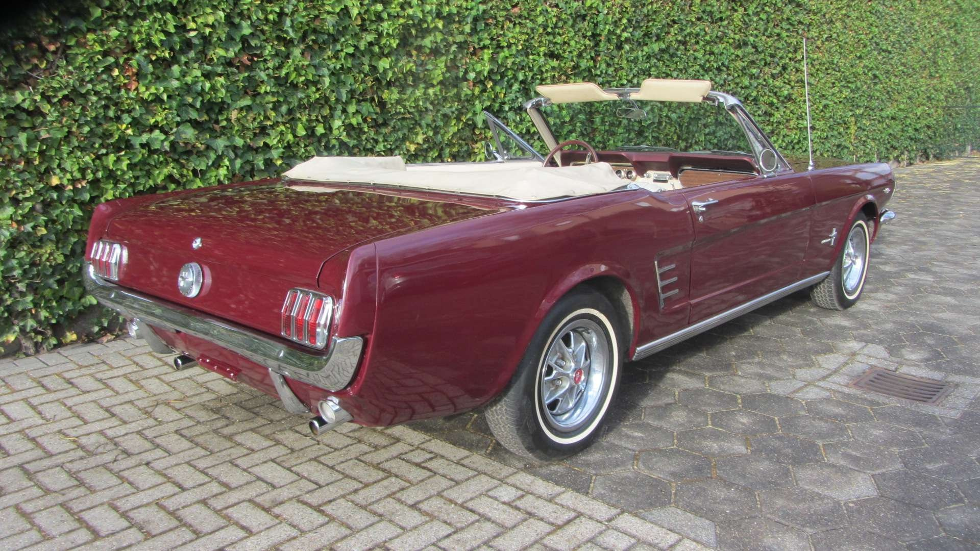 Ford Mustang V 8 Pony Intr 1966  & 50 USA Classics For Sale (picture 2 of 6)