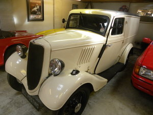 1937 FORD 5 cwt VAN. Restored. For Sale