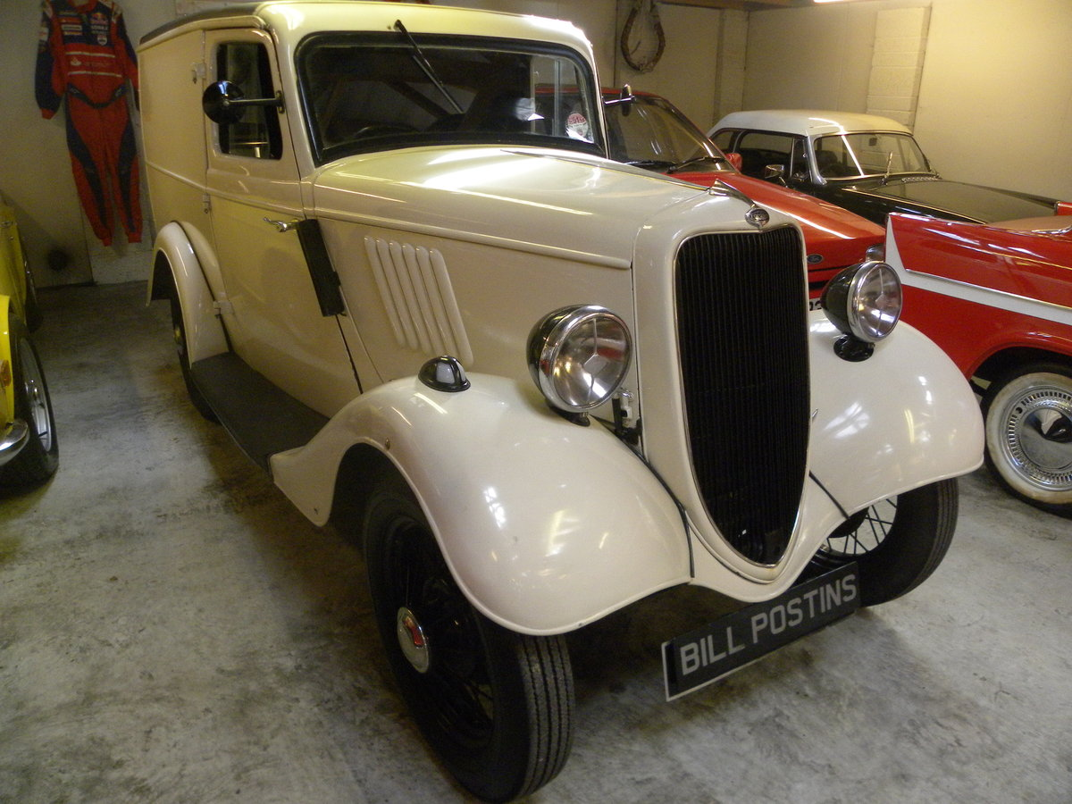 1937 FORD 5 cwt VAN. Restored. For Sale (picture 2 of 6)