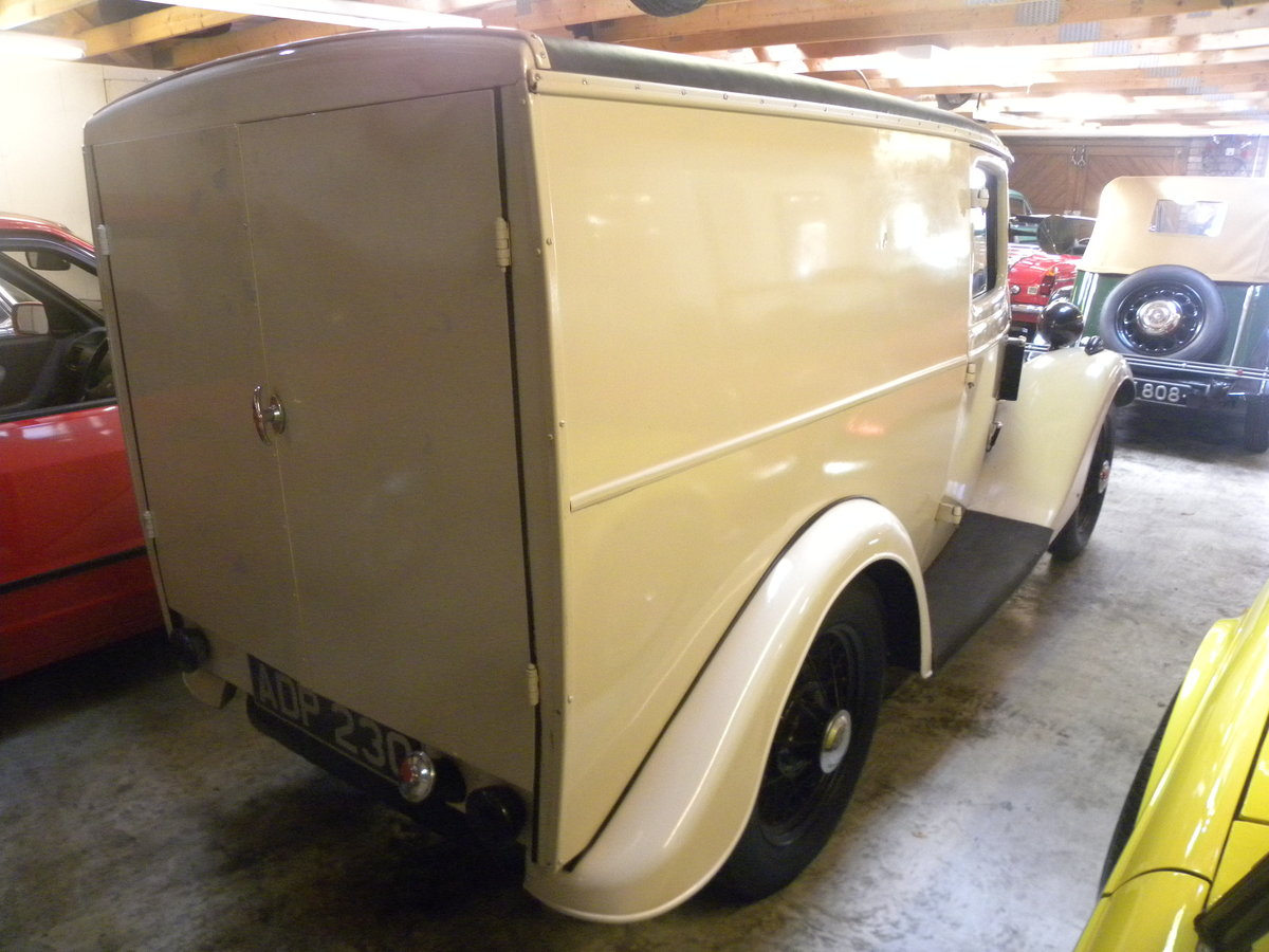 1937 FORD 5 cwt VAN. Restored. For Sale (picture 3 of 6)