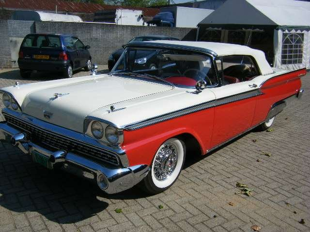 Ford Fairlane Galaxi 500 Conv 1959 New Car   50 USA Classics For Sale (picture 4 of 6)