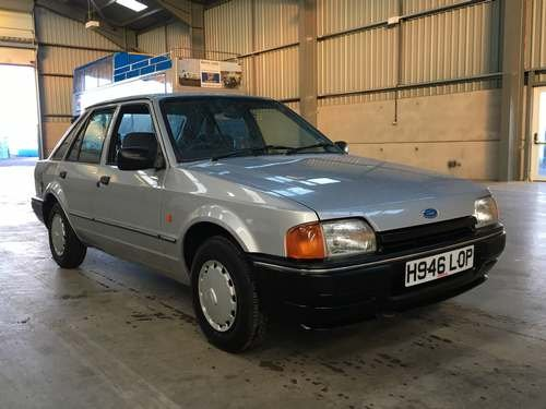 1990 Ford Escort L 5SPD at Morris Leslie Auction 17th August SOLD by Auction (picture 1 of 6)