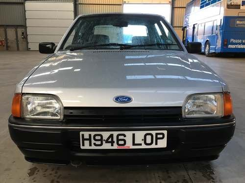 1990 Ford Escort L 5SPD at Morris Leslie Auction 17th August SOLD by Auction (picture 3 of 6)