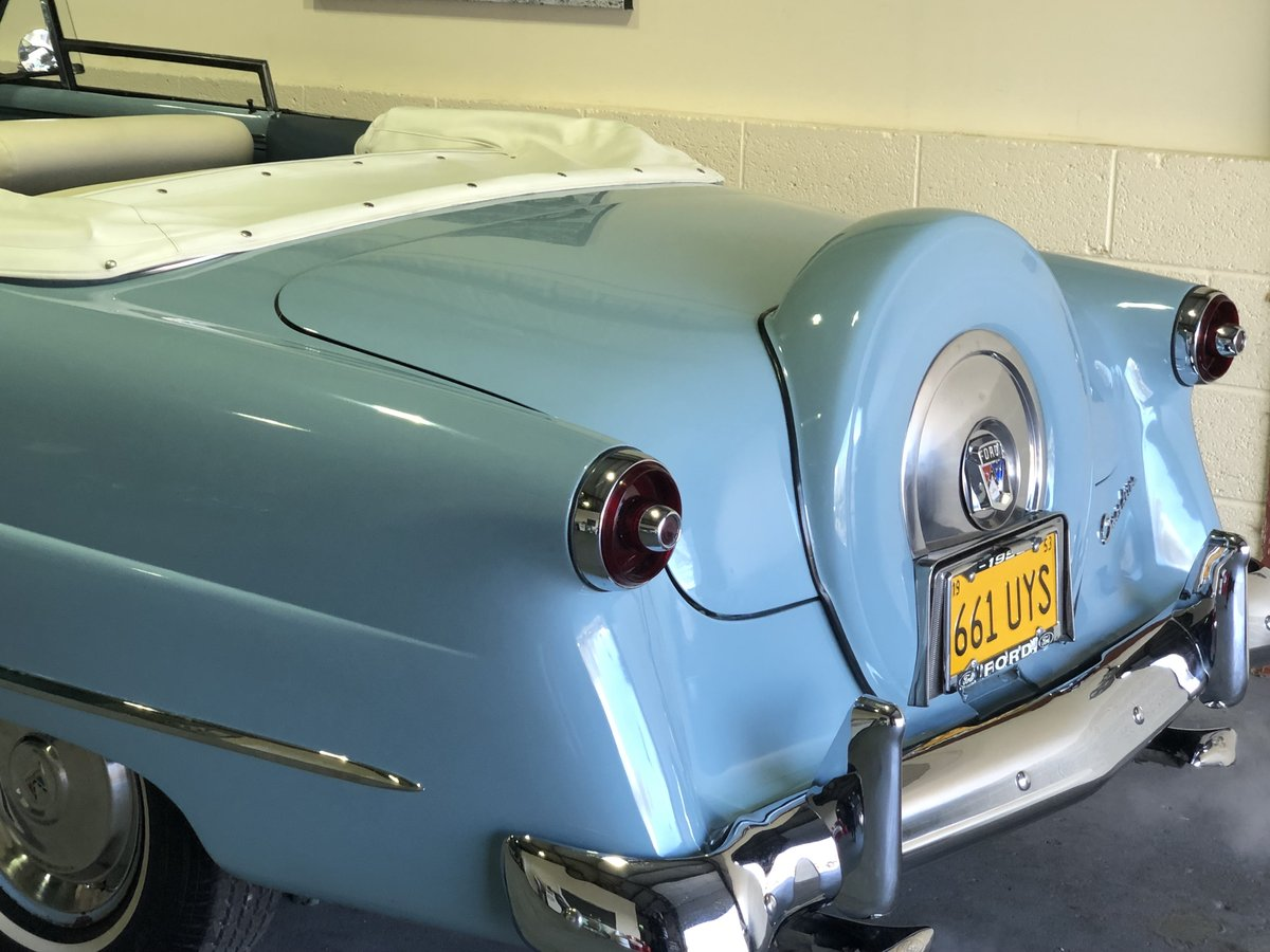 Ford Sunliner convertible-1953 anniversary edition-rare For Sale (picture 4 of 6)