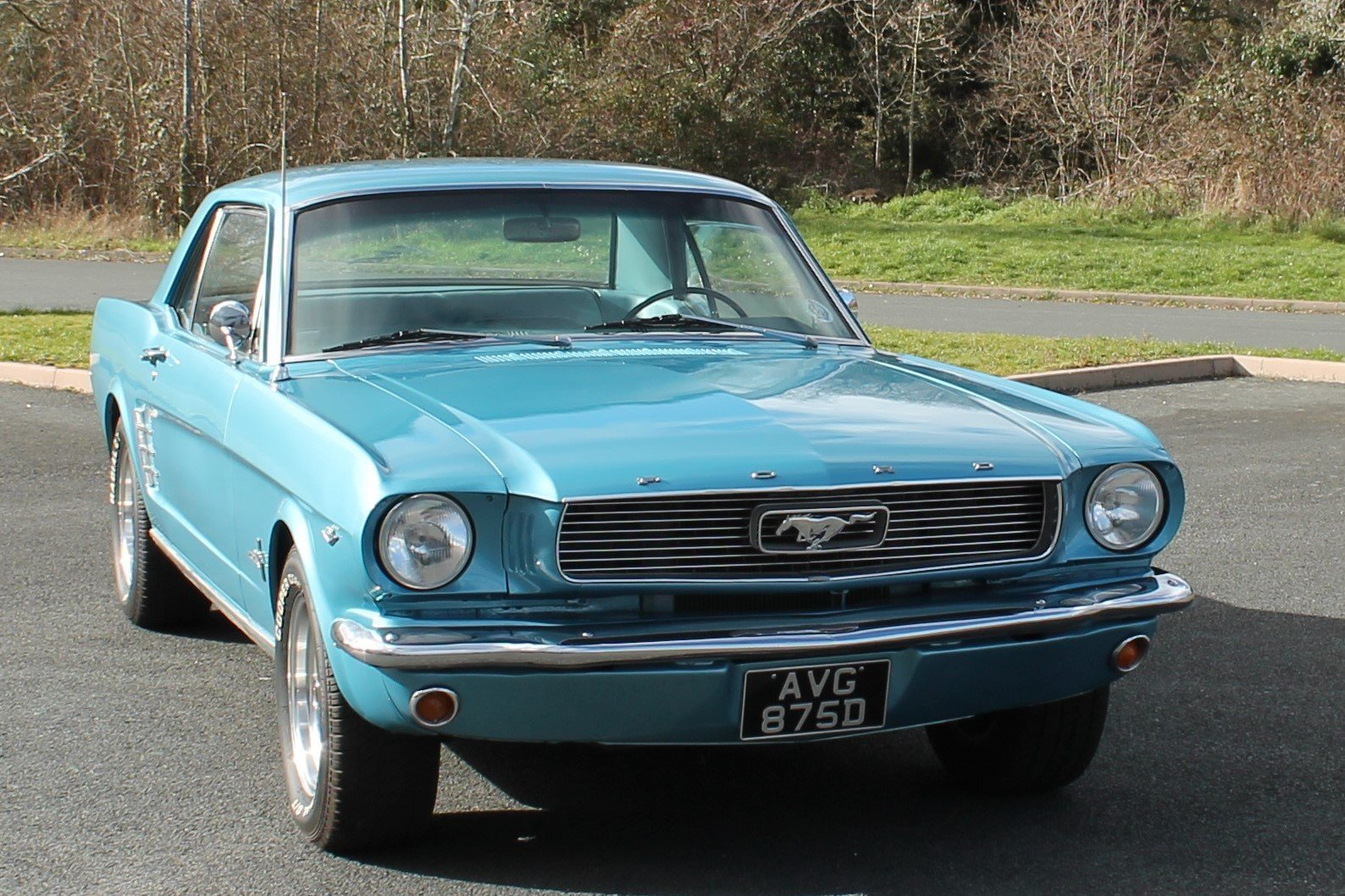 1966 Ford Mustang 289 V8 Automatic Power Steering For Sale (picture 1 of 6)